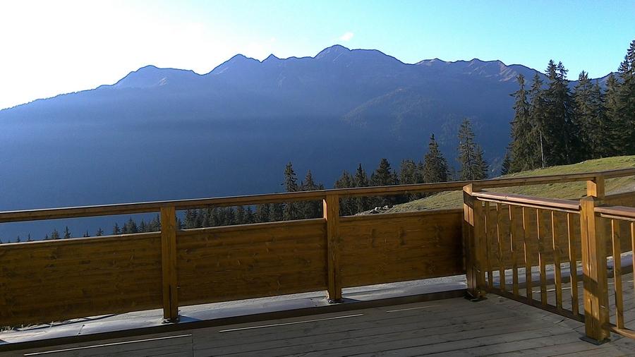 Terrasse vue sur le beaufortin